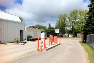 Sauble Beach Resort Camp - Sauble Beach Ontario - Front Gate